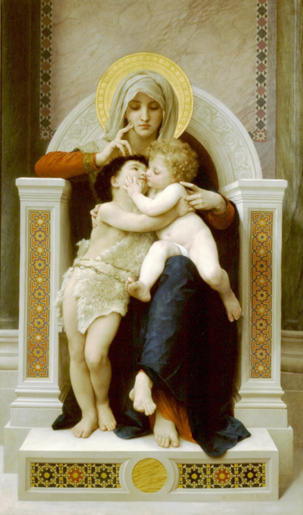 The Virgin, the Baby Jesus and Saint John the Baptist