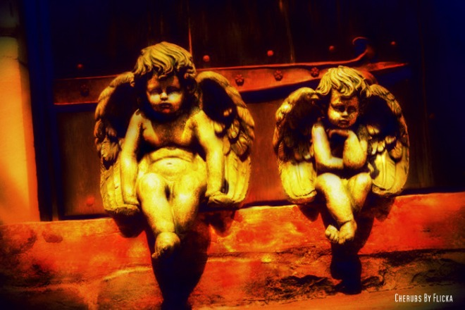 Cherubs By Flicka