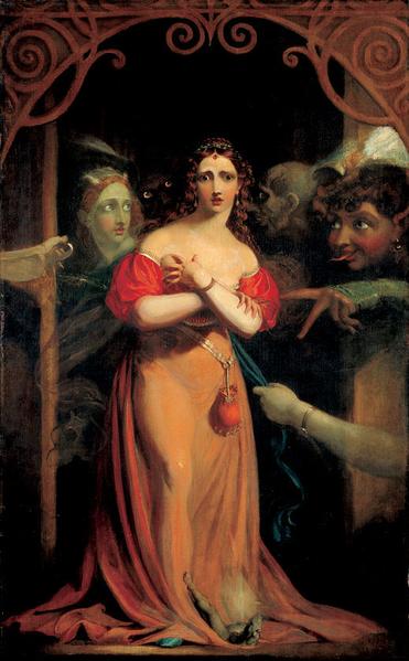 Bertalda, Assailed by Spirits