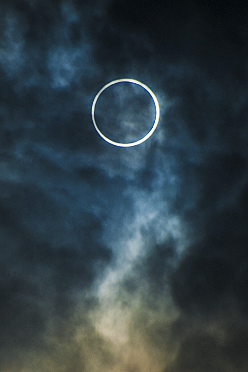 The annular solar eclipse